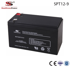 Sunstone Power 12V 9AH AGM Lead Acid Batterie Akku Batterien