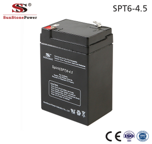 Sunstone Power UPS Batterie 6V 4.5AH Solaranlage AGM Blei Batterie